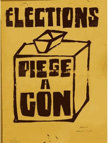 L'atelier populaire de Mai 68 : une source d'inspiration ?  Elections