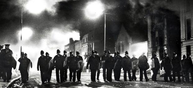 émeutes de Toxteth (Liverpool), juillet 1981