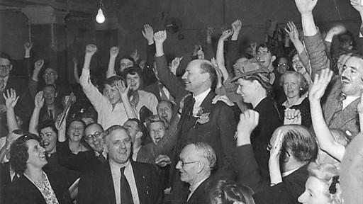 victoire d'Attlee en juillet 45