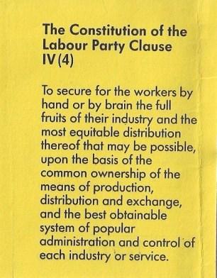 La clause IV 1918-1995