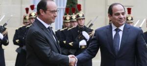 Hollande et Al Sissi